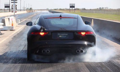 Hennessey Jaguar F-Type R HPE600 announced, runs 11.5sec