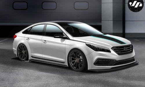 Hyundai JP Edition Sonata set for SEMA Show