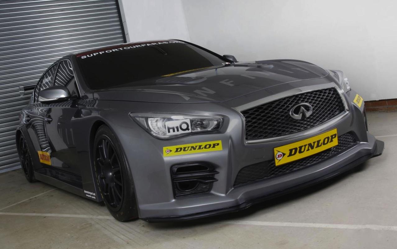 Infiniti Q50 Announced For 2015 Btcc Racing Series In Uk