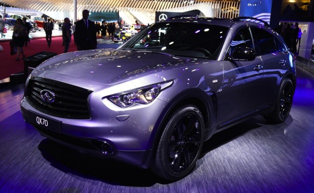 Infiniti QX70 S Design-Paris