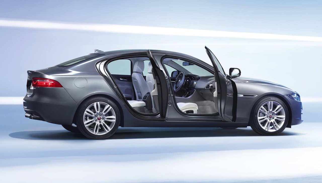Jaguar XE officially unveiled at 2014 Paris Motor Show | PerformanceDrive