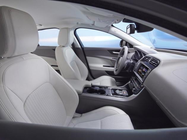 Jaguar XE Portfolio-front seats