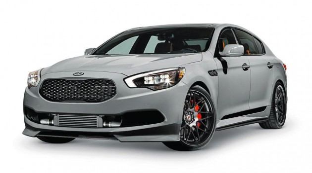 Kia High-Performance K900 concept SEMA 2014