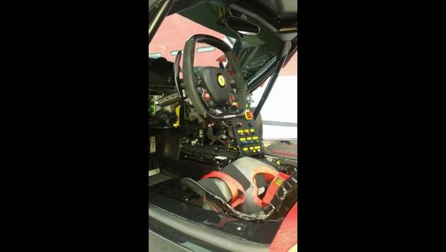LaFerrari FXX prototype-interior