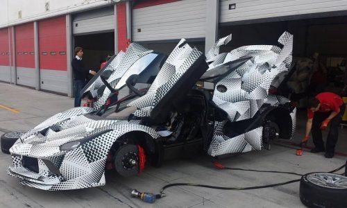 LaFerrari 'FXX' spotted again, to debut at Ferrari Finali Mondiali
