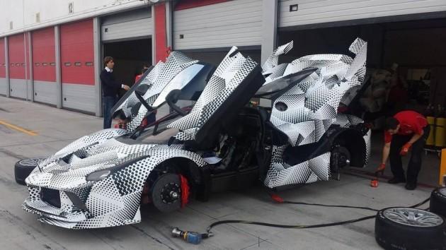 LaFerrari FXX prototype