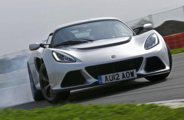 Lotus Exige S drifting