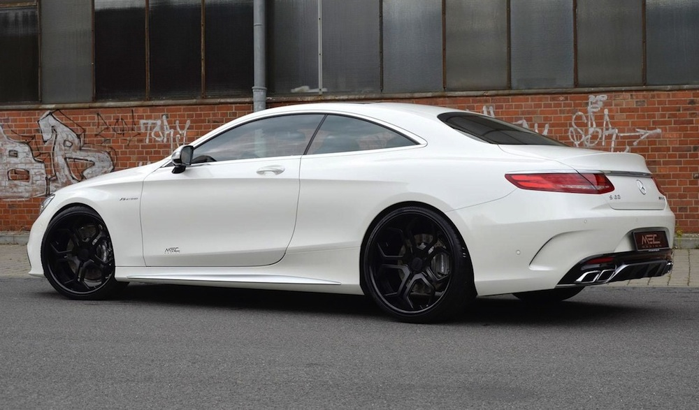 Mec Design Upgrades The W217 Mercedes S 63 Amg Coupe Performancedrive