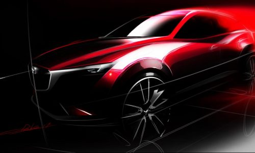 Mazda CX-3 confirmed as new junior SUV, LA debut