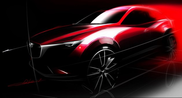 Mazda CX-3 preview