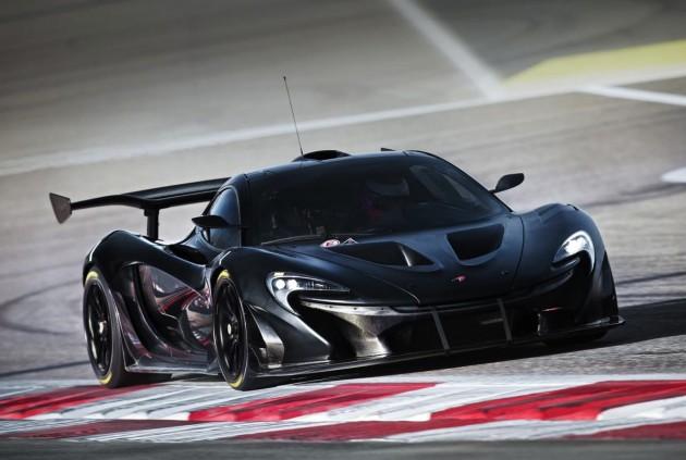 McLaren P1 GTR programme