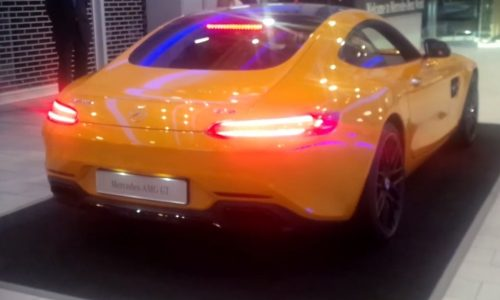 Mercedes-AMG GT sounds so dirty it should be R-rated