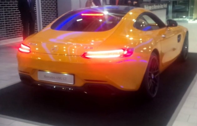 Mercedes-AMG GT S exhaust sound