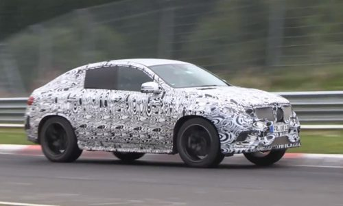 Video: Mercedes-Benz 'ML Coupe' spotted at the 'Ring