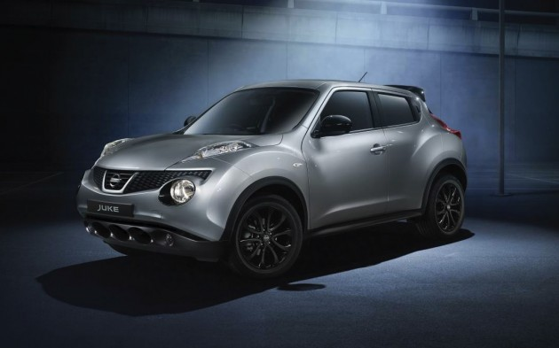 Nissan Juke Mightnight Edition-front