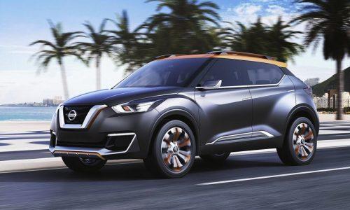 Nissan Kicks concept unveiled at Sao Paulo Motor Show
