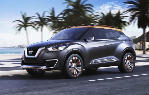 Nissan Kicks concept-design