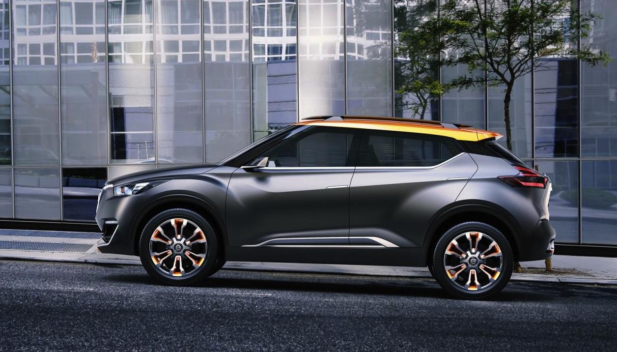 Nissan Kicks concept unveiled at Sao Paulo Motor Show ...