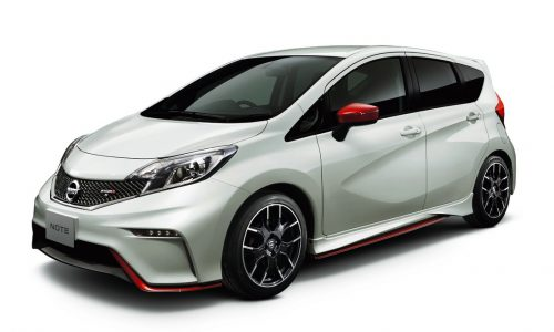 Nissan Note Nismo S on sale, Japan only
