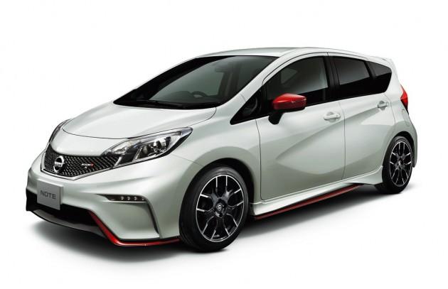 Nissan Note NISMO S white