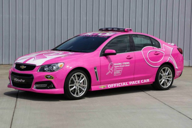 Pink Chevrolet SS Holden Commodore