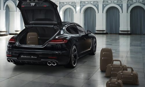 Porsche Panamera Exclusive Series limited edition revealed