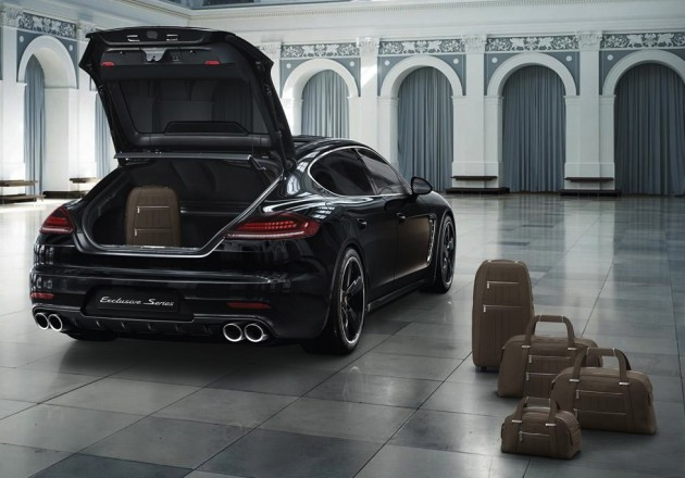Porsche Panamera Exclusive Series limited edition