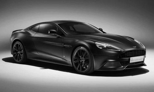 Q by Aston Martin reveals satin black Vanquish Coupe
