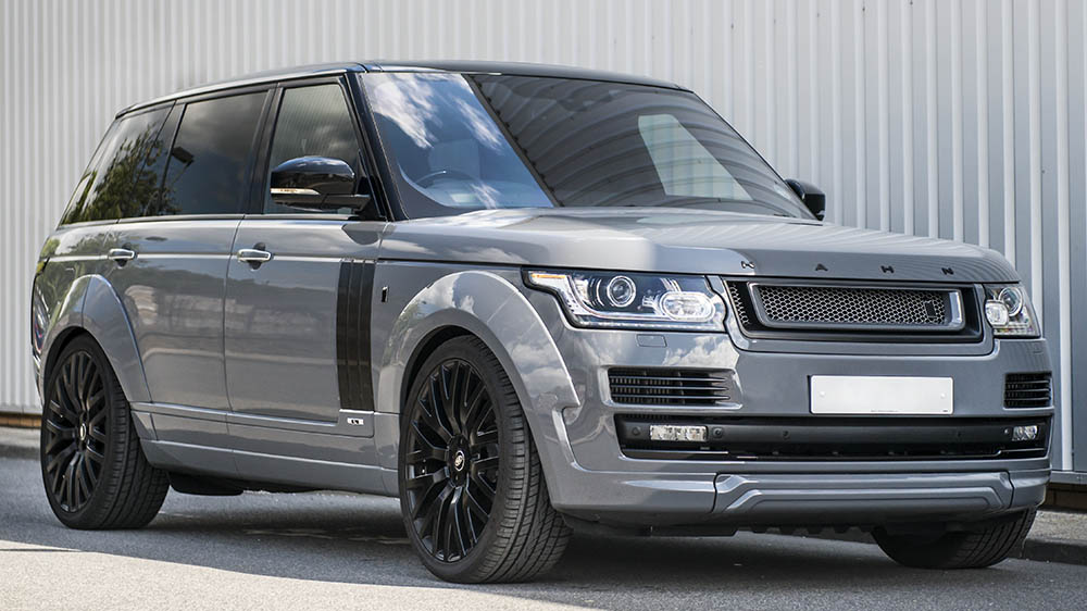how to put range rover in 4 wheel drive