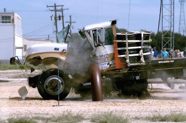 TTI Anti-terrorism truck barrier