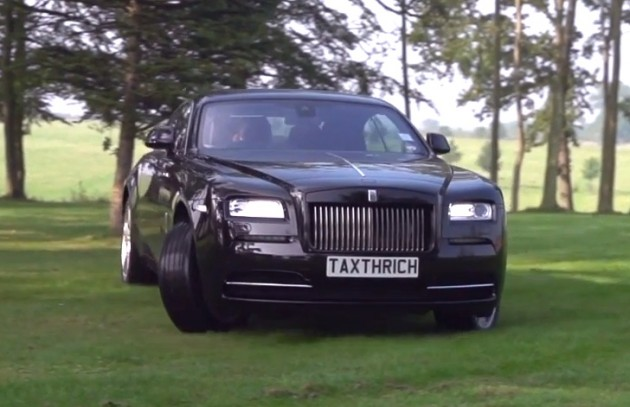 TaxTheRich Rolls-Royce Wraith