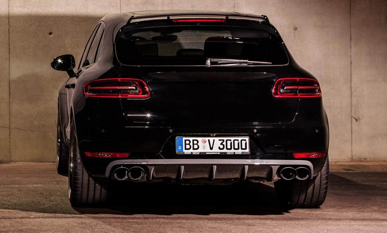 Techart Creates Sinister Porsche Macan Turbo Upgrade