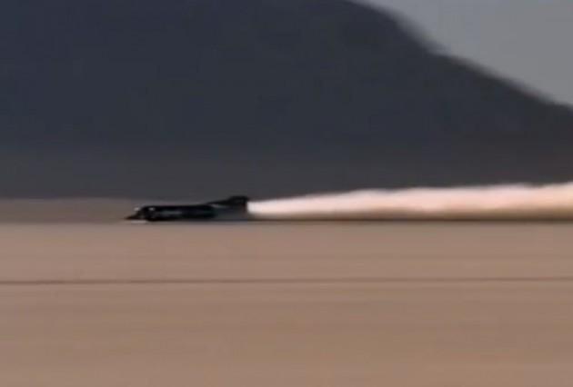 Thurst SSC land speed record