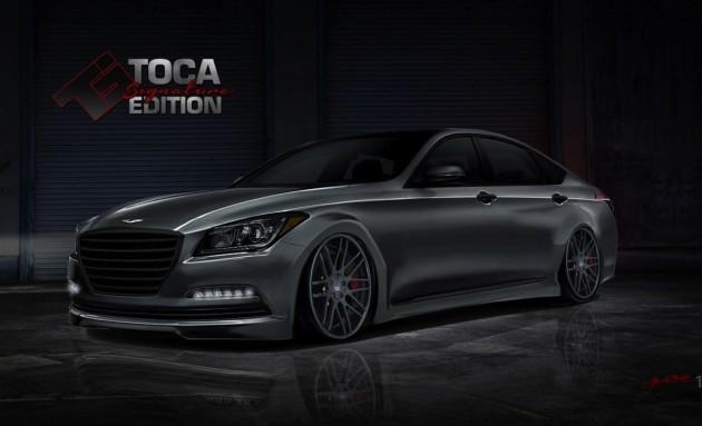 Toca Hyundai Genesis twin-turbo SEMA