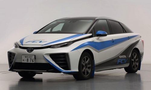 Toyota FCV rally car revealed, is this the future of rallying?