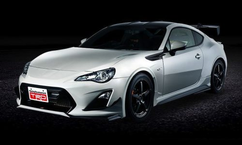 TRD Toyota 86 14R60 limited edition revealed, for JDM