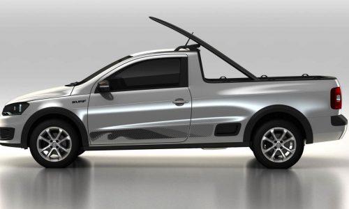 Volkswagen Saveiro Surf revealed ahead Sao Paulo debut
