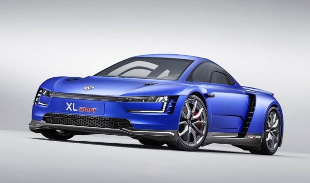 Volkswagen XL Sport concept-front