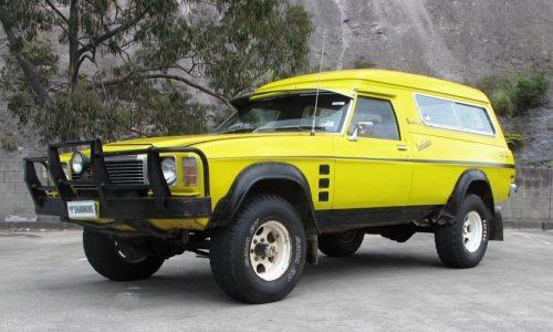 For Sale: 1976 Holden HJ Overlander Sandman 4×4