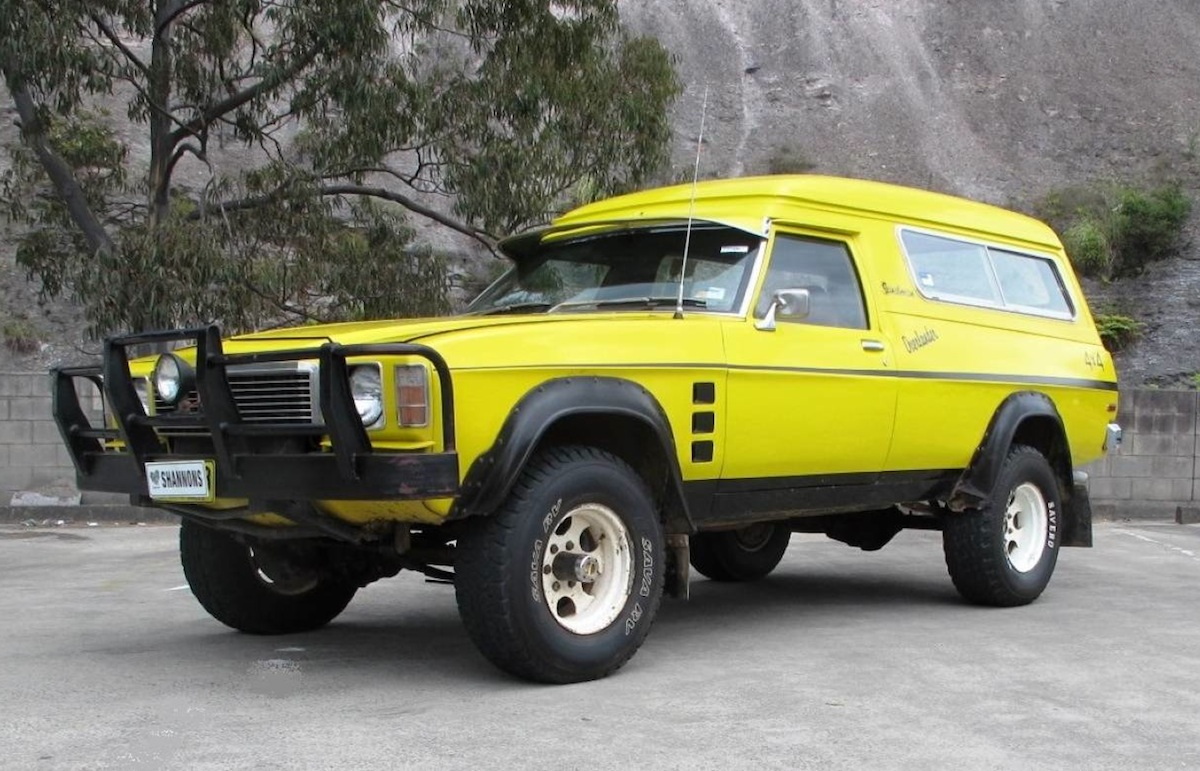 4x4 Van For Sale >> For Sale: 1976 Holden HJ Overlander Sandman 4x4 | PerformanceDrive