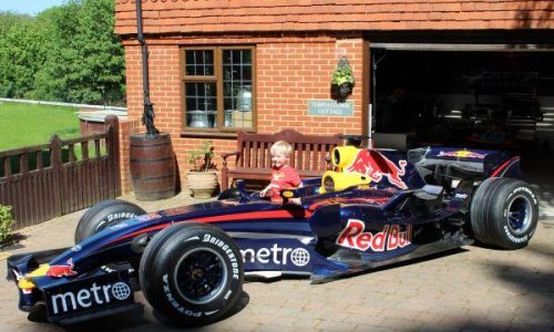 For Sale: Mark Webber's 2007 Red Bull Racing F1 car