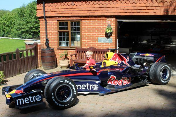 2007 Red Bull Racing RBR3 F1 car