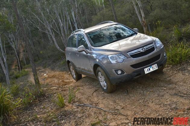 2014 Holden Captiva 5 LT-off road