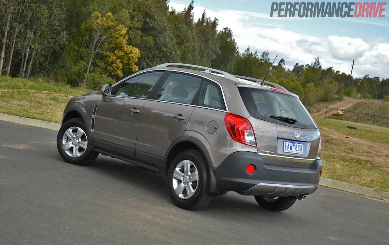 Holden Captiva 2017 >> 2014 Holden Captiva 5 LT review (video) | PerformanceDrive