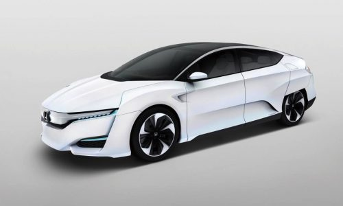 Honda FCV hydrogen concept revealed, hits production in 2016