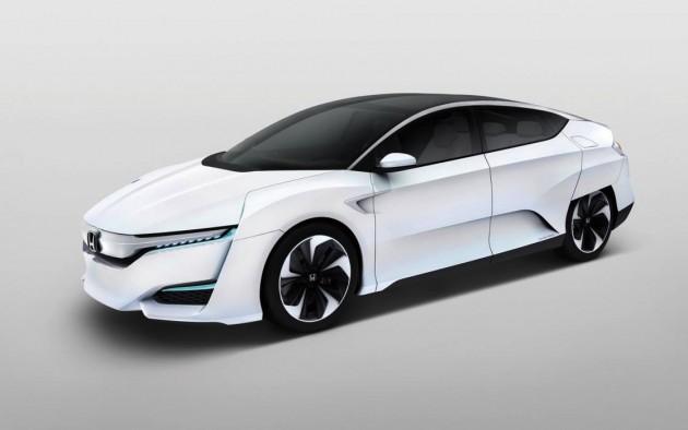 2014 Honda FCV concept-white