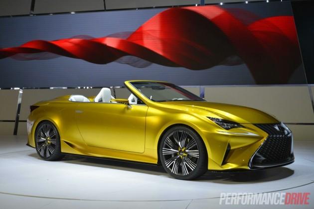 2014 Los Angeles Auto Show-Lexus LF-C2