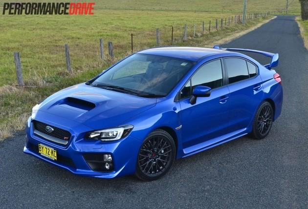 2014 Subaru WRX STI Australia