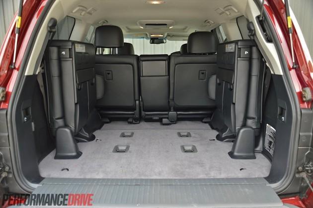 2014 Toyota LandCruiser Sahara-cargo space