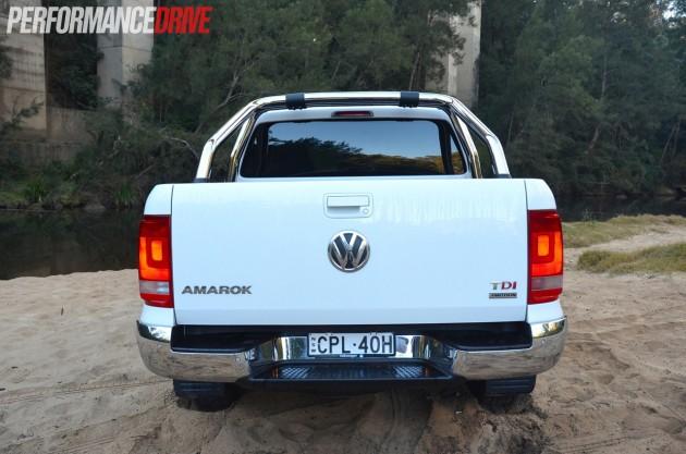 2014 Volkswagen Amarok Highline TDI420 rear exterior
